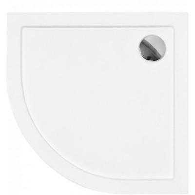 ARON 80x80 cm Olsen-Spa sprchová vanička čtvrtkruhová akrylátová