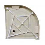 ATHILA 90 Well Čtvrtkruhový sprchový kout s vaničkou + sifon ZDARMA - Obrázek (5)