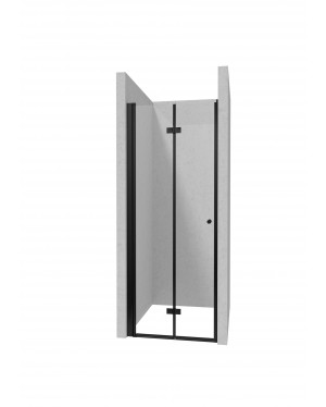 BEAUTY BLACK 80 Well Sprchové dveře