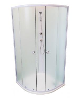 BIANCA 90 RENO Well Sprchový box s mramorovou vaničkou