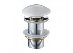 CLICK-CLACK Well výpustě bez přepadu bílá keramická