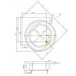 BORNEO-R 162 Teiko Vana kruhová s podporou