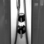 CK 351 22B Mereo Sprchový box čtvrtkruhový s vaničkou SMC, bez stříšky, 90x90