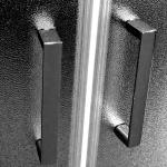 CK 351 22BS Mereo Sprchový box čtvrtkruhový s vaničkou SMC, se stříškou, 90x90