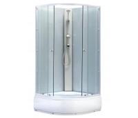 BIANCA 90 High Well Sprchový box s hlubokou vaničkou + sifon ZDARMA