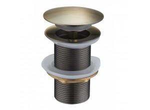 CLICK-CLACK Well výpusť bez přepadu bronz