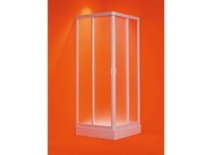 ANGOLO Olsen-Spa 75 - 80 × 75 - 80 Čtvercový sprchový kout