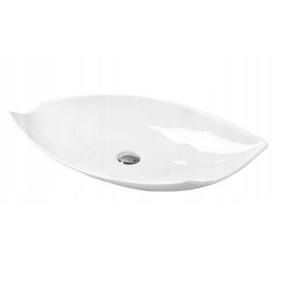 DAFNE Well umyvadlo na desku 74 x 38 cm bílé