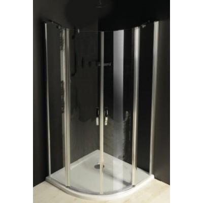 DOVER 90 Clear Sprchový kout čtvrtkruhový