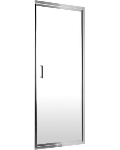LEXA 90 clear Well Sprchové dveře jednokřídlé - čepový pant
