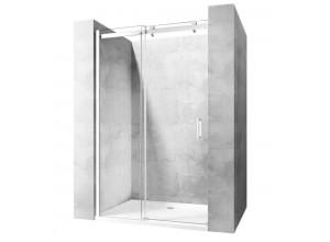 NOX 130 L Well Luxusní Sprchové dveře posuvné na rolnách
