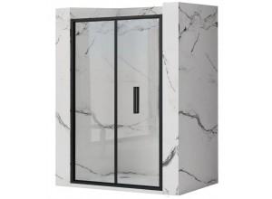 RAFO BLACK 100 Well Sprchové dveře zalamovací