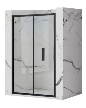 RAFO BLACK 90 Well Sprchové dveře zalamovací