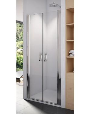 SL2 1200 50 22 SanSwiss Sprchové dveře dvoukřídlé 120 cm