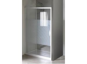 ETERNO GE6910 Gelco Sprchové dveře dvoudílné posuvné - sklo Strip, š. 100 cm, v. 190 cm