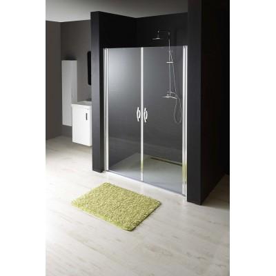 GO2811 ONE Gelco Sprchové dveře dvoudílné otočné - sklo čiré