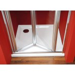 SNAKE 100 Well Sprchové dveře do niky zalamovací - Obrázek (2)