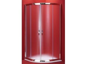 BARCELONA 100×100 chrom rám mat Olsen-Spa sprchový kout ,5mm matné