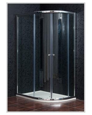 KLASIK 80x120 New clear levá Arttec sprchový kout s vaničkou STONE