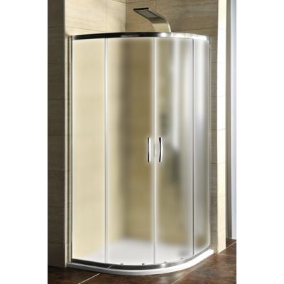 AKČNÍ SET AG4295 Gelco Sprchový kout čtvrtkruhový s vaničkou z litého mramoru Semi