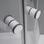 ATHILA 80 Well Čtvrtkruhový sprchový kout s vaničkou + sifon ZDARMA