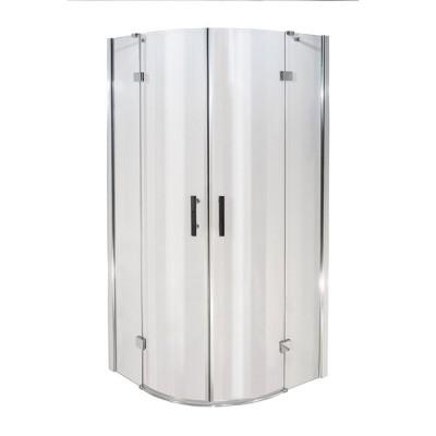 NORWICH 90 Clear Well Luxusní čtvrtkruhová sprchová zástěna