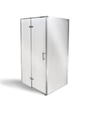 MANU 80 x 100 cm Well Luxusní obdélníková sprchová zástěna