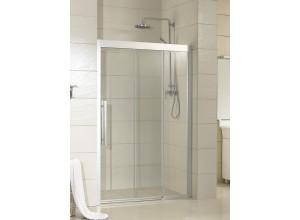 MARTAS 120 Pravé Sprchové dveře trojdílné - bezbariérové
