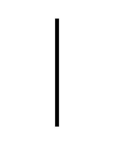 Nastavovací profil ke sprchovým dveřím HOPA, chrom, +1 cm (výška 190 cm)