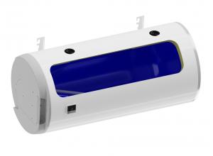 OKCV 200/L DZD Kombinovaný ležatý ohřívač - levá varianta