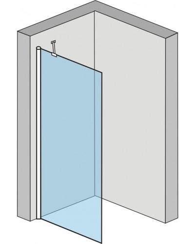 Alfa 90 Clear Well Pevná stěna ke sprchovým dveřím Alfa