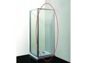 SMART - PINA čiré 80 x 190 cm Pevná stěna
