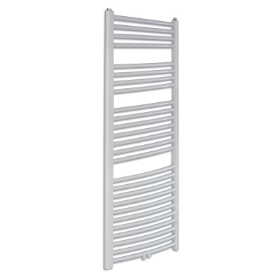 PRIMO RONDO-N/MM Koupelnový žebřík (radiátor) - bílý š. 400 x v. 1424, středové připojení