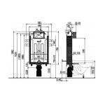 AM115+M70 Renovmodul  AlcaPLAST kompletní instalační set