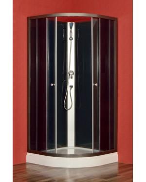 ROSA stone 90 Arttec Sprchový box s vaničkou z litého mramoru