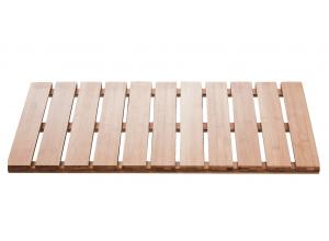 Rošt koupelnový, obdélníkový, 100% bambus, přírodní barva 38 × 72 cm