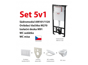 Set 5v1 AlcaPlast AM101/1120 M270