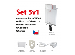 Set 5v1 AlcaPlast AM100/1000 M270