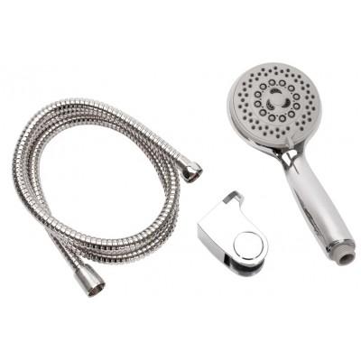 PIERRE Sprchový set sprchové hlavice, hadice a držáku na stěnu