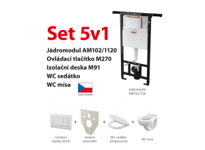 Set 5v1 AlcaPlast AM102/1120 M270