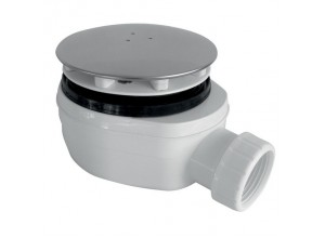 PB90 EXN Gelco Sifon pro sprchovou vaničku extra nízký - chrom