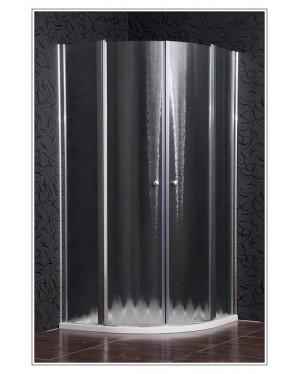SMART 90 chinchila NEW Arttec sprchová zástěna čtvrtkruhová s mramorovou vaničkou ZDARMA