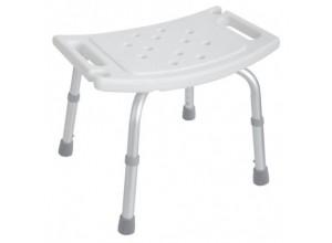 Sprchová stolička, hranatá