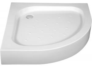 CORN 80x80 Well Sprchová vanička čtvrtkruh