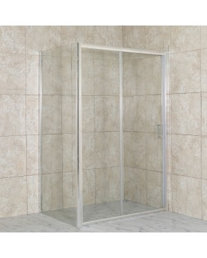 DIAS COMBI 150x80 čiré Well sprchová zástěna obdélníková