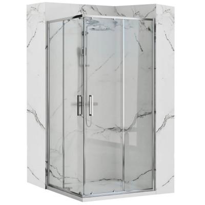 NUPO SABRO 100x80 Well Sprchový kout s vaničkou