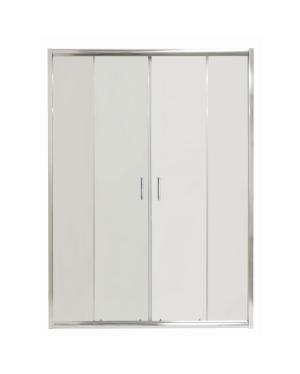 COSTA 140 Clear Well Čtyřdílné sprchové dveře posuvné