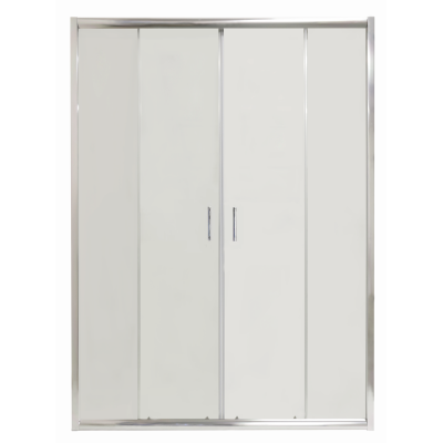 COSTA 160 Clear Well Čtyřdílné sprchové dveře posuvné