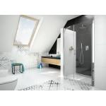 MONA 125 Clear Well Sprchové dveře otevírací