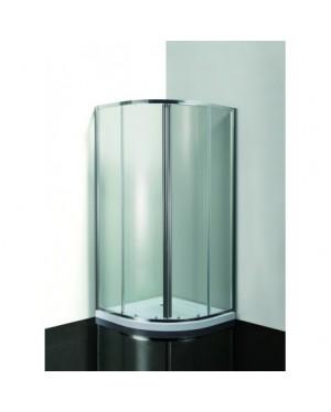 MEGRE 90 ROCKY Well Clear Sprchový kout s mramorovou vaničkou